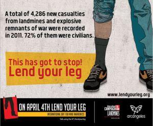 04042013 Lend Your Leg