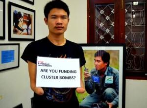 Phongsavath Manithong, Cluster munition survivor and Handicap International Ban Advocate, Laos. © Handicap International Laos
