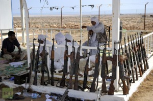Tribes  weapons in Libya