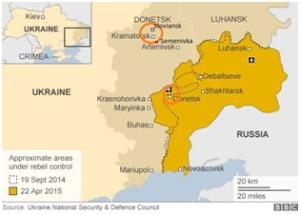 Foto kaart Oekraine
